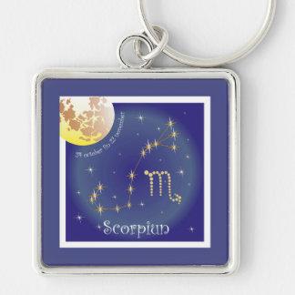Scorpiun 24 more october fin 22 November Key Ring