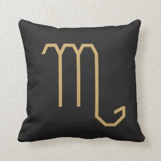 Scorpius  Zodiac Sign Basic Cushion