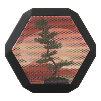 Scotch pine bonsai tree - 3D render Black Bluetooth Speaker