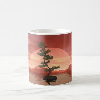 Scotch pine bonsai tree - 3D render Coffee Mug