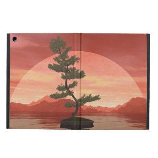 Scotch pine bonsai tree - 3D render Cover For iPad Air