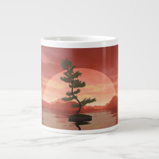 Scotch pine bonsai tree - 3D render Giant Coffee Mug