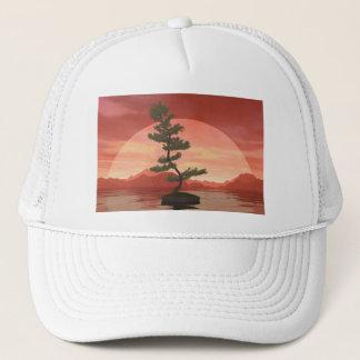 Scotch pine bonsai tree - 3D render Trucker Hat