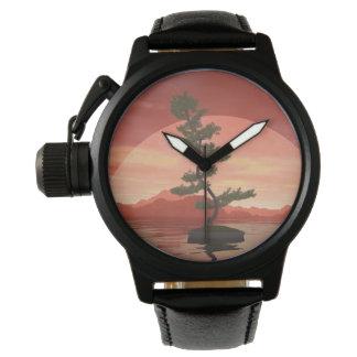 Scotch pine bonsai tree - 3D render Watch