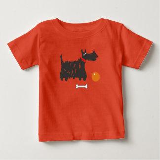Scotch terrier. baby T-Shirt