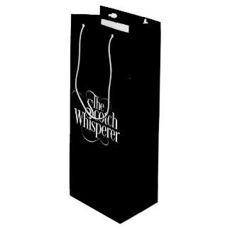 Scotch Whisperer Wine Gift Bag