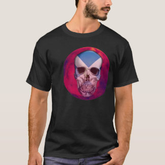 Scotish Skull Imprint T-Shirt