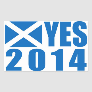 Scotland 2014 YES Sticker