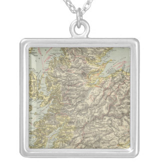Scotland 5 silver plated necklace