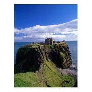 Scotland, Aberdeen. Dunnotar Castle. Postcard
