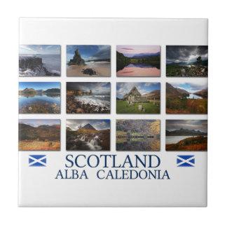 Scotland - Alba - Caledonia Ceramic Tile