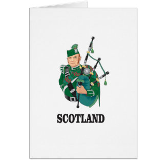 Scotland art card