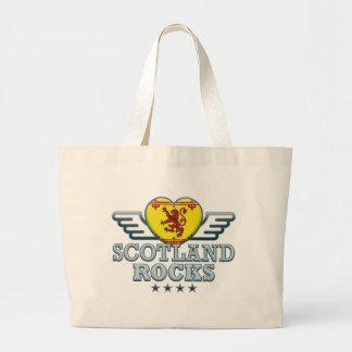 Scotland B Rocks v2 Canvas Bags