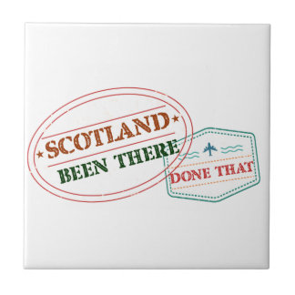 Scotland Been There Done That Tile
