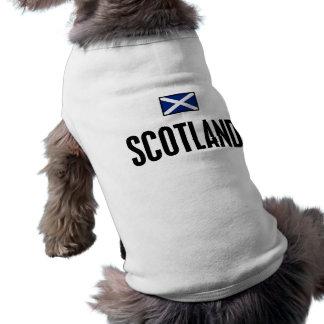Scotland Bold Doggie T-shirt