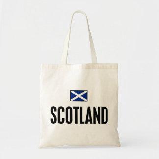 Scotland Bold Budget Tote Bag