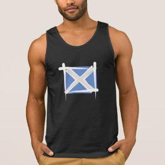Scotland Brush Flag Singlet