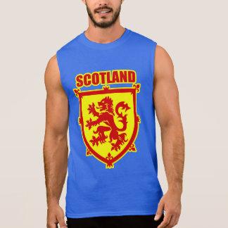 Scotland Coat of Arms Lion Rampant Sleeveless Shirt