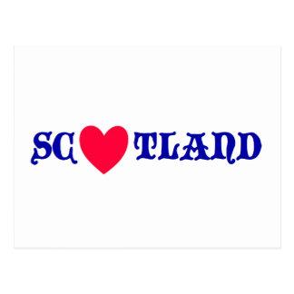 Scotland coils postcard