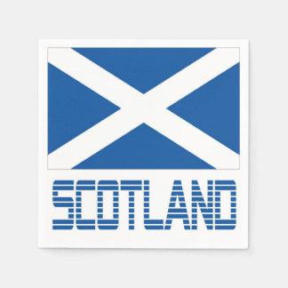 Scotland Disposable Serviette