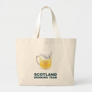 Scotland Drinking Team Jumbo Tote Bag