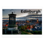 Scotland Edinburgh skyline (St.K) Post Card