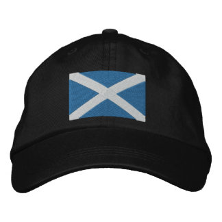 Scotland Embroidered Hat