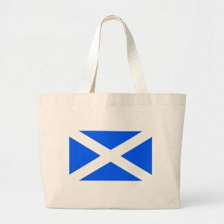 Scotland flag tote bags