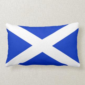 Scotland Flag Throw Pillows