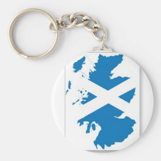 Scotland Flag Key Ring