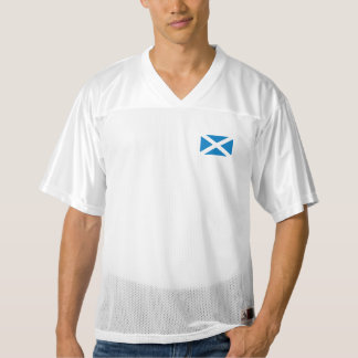 Scotland Flag Men's Football Jersey