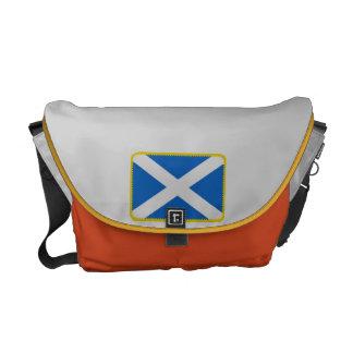 Scotland flag messenger bag