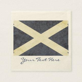 Scotland Flag Party Napkins Disposable Serviettes