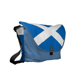 Scotland Flag Rickshaw Messenger Bag