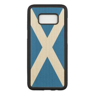 Scotland Flag - Scottish Flag Souvenir Carved Samsung Galaxy S8 Case