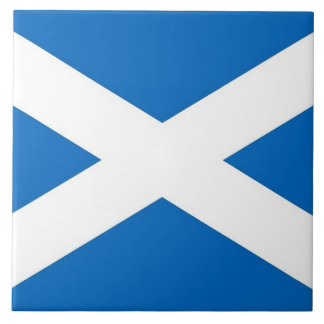 Scotland Flag Tile