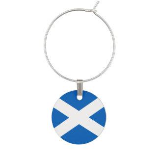 Scotland Flag Wine Charms