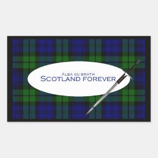 Scotland Forever Alba gu bràth Rectangular Sticker