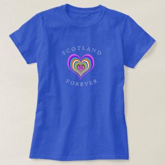 Scotland Forever Heart T-Shirt
