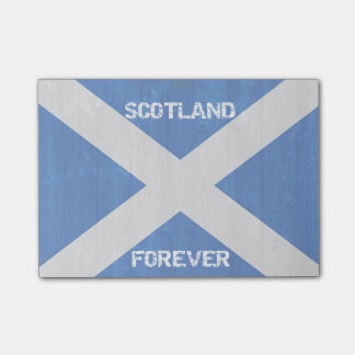Scotland Forever Post-it® Notes 4 x 3