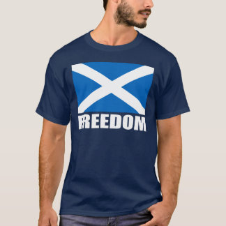 Scotland Freedom Flag T-shirts