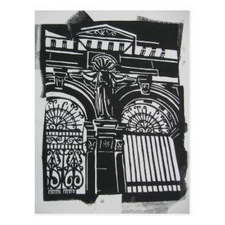Scotland Gates Postcard