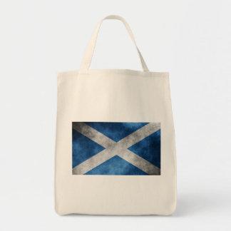 Scotland Grunge- Saint Andrew s Cross Canvas Bag