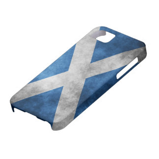 Scotland Grunge- Saint Andrew's Cross Barely There iPhone 5 Case