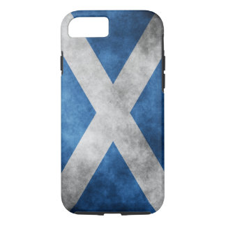 Scotland Grunge- Saint Andrew's Cross iPhone 8/7 Case
