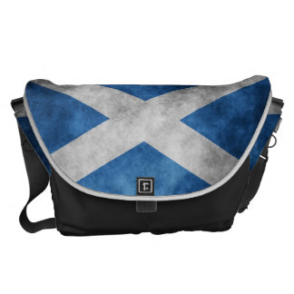 Scotland Grunge- Saint Andrew's Cross Messenger Bag