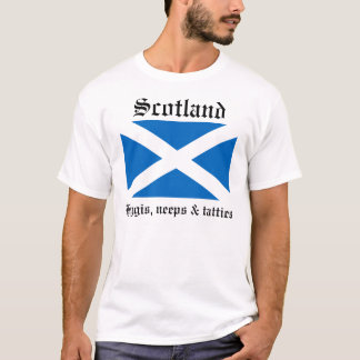 Scotland, Haggis, neeps and tatties T-Shirt