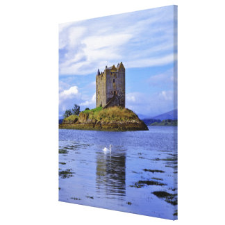 Scotland, Highland, Wester Ross, Loch Linnhe. A Gallery Wrapped Canvas