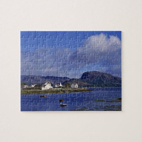 Scotland, Highland, Wester Ross, Plockton. Jigsaw Puzzle