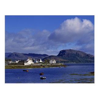 Scotland, Highland, Wester Ross, Plockton. Postcard